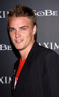 Riley Smith at the Maxim Magazine and Sobe's