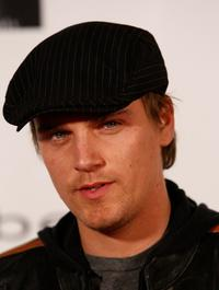 Riley Smith at the Bebe Lingerie Launch party.