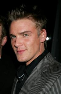Riley Smith at the William Morris Agency Grammy party.