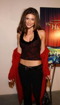 Cerina Vincent at the opening of