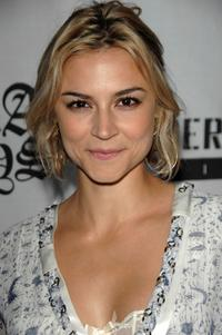 Samaire Armstrong at the premiere of