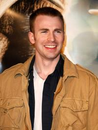 Chris Evans at the premiere of