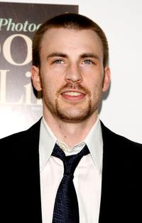 Chris Evans at the Hollywood Life Magazine's 9th annual Young Hollywood Awards.