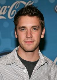 Bret Harrison at the American Idol Top 12 Party.