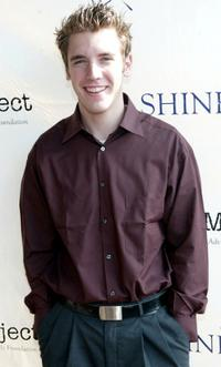 Bret Harrison at the 2002 Shine Media Awards.
