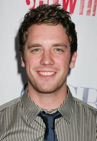 Bret Harrison at the CW/CBS/Showtime/CBS Television TCA party.