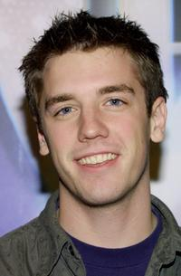 Bret Harrison at the WB Network's 2003 Winter Party.