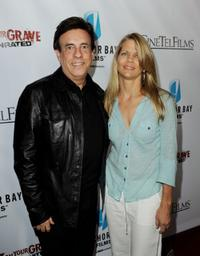 Producer Paul Hertzberg and Lisa Hansen at the premiere of