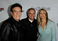 Producer Paul Hertzberg, Kevin Kasha and Lisa Hansen at the premiere of