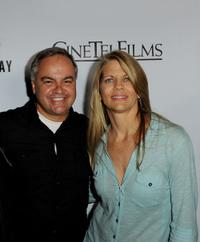 Kevin Kasha and Lisa Hansen at the premiere of