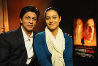 Shah Rukh Khan and Kajol at the press conference of