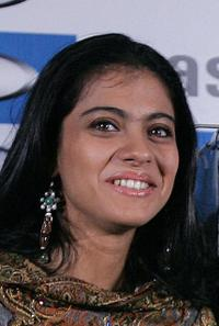 Kajol at the launch of Whirlpool products in New Delhi.