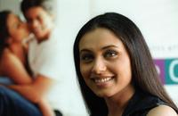 Rani Mukherjee at the promotion of