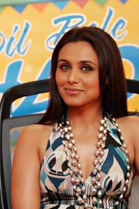 Rani Mukherjee at the promotional event for
