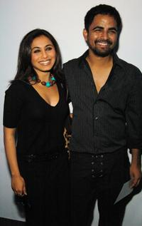Rani Mukherjee and Sabyasachi at the Sabyasachi Spring 2007 fashion show during the Olympus Fashion Week.