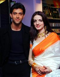 A File Photo of Hrithik Roshan and Suzanne Khan, dated September 2000.