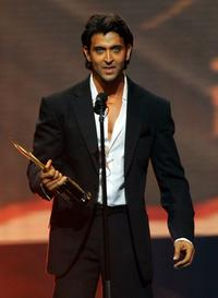 Hrithik Roshan at the International Indian Film Academy Awards.