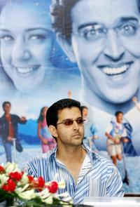 Hrithik Roshan at the press conference of