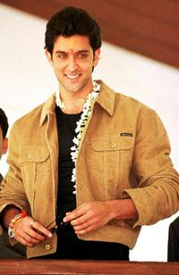 Hrithik Roshan at the Golden Palms Resort and Spa.