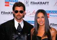 Hrithik Roshan and Barbara Mori at the New York premiere of