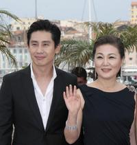 Shin Ha-kyun and Kim Hae-Sook at the photocall of
