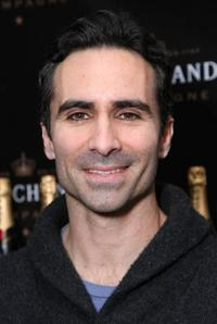 Nestor Carbonell at the Moet & Chandon suite in honor of the 2008 SAG Awards.