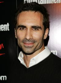 Nestor Carbonell at the Entertainment Weekly and Vavoom's Network Upfront party.