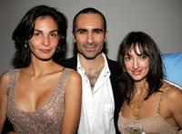 Ines Sastre, Nestor Carbonell and Lorena Feijoo at the after party of