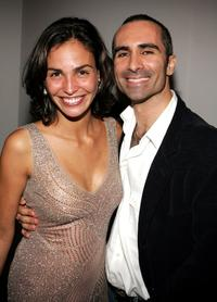 Ines Sastre and Nestor Carbonell at the after party of