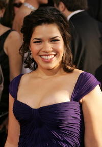 America Ferrera at the 64th Annual Golden Globe Awards in Beverly Hills, California.