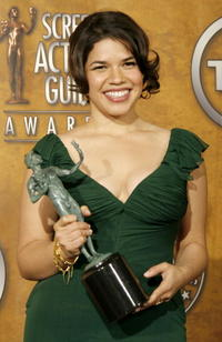 America Ferrera at the 13th Annual Screen Actors Guild Awards in Los Angeles.
