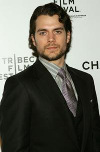 Henry Cavill at the Chanel and Tribeca Film Festival Artists Dinner.