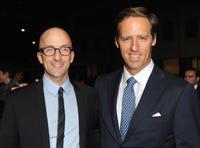 Jim Rash and writer Nat Faxon at the California premiere of