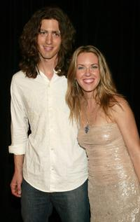 Liz Phair and Dino Meneghin at the screening of