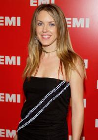 Liz Phair at the EMI Grammy post party.