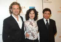 Malcolm Gets, Parker Posey and Chris Kattan at the screening of