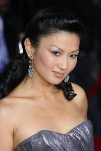 Michelle Krusiec at the premiere of
