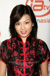 Michelle Krusiec at the party to celebrate the launch of ImaginAsian TV.