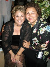 Lupe Ontiveros and Soledad St. Hilaire at the after party of the 7th Annual Los Angeles Latino International Film Festival.