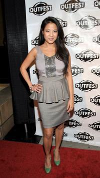 Karin Anna Cheung at the Outfest Fusion Achievement Awards.