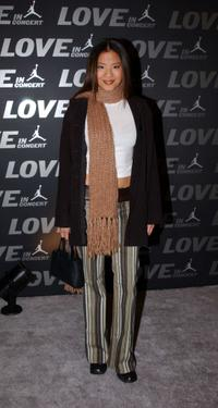 Karin Anna Cheung at the Jordan Presents LOVE: In Concert in Atlanta.