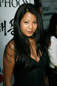 Karin Anna Cheung at the premiere of