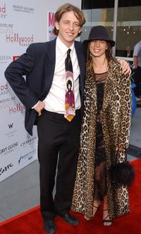 Hank Harris and Holiday Hopke at the 4th Annual Young Hollywood Awards.