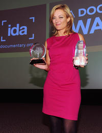 Lucy Walker at the International Documentary Association's 26th Annual Awards in California.
