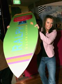 Layne Beachley at the launch of the new Ralph Lauren Fragrance