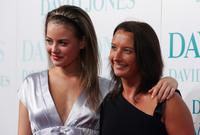 April Rose Pengilly and Layne Beachley at the David Jones Winter 2008 Collection Launch.