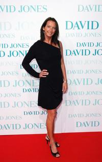 Layne Beachley at the David Jones Winter 2008 Collection Launch.