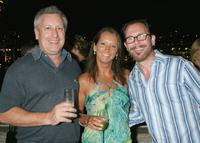 Dicko, Layne Beachley and Kirk Pengilly at the Gordon Ramsey Cocktail party.