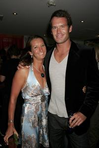 Layne Beachley and Tom Williams at the Oakley Women's Collection launch.