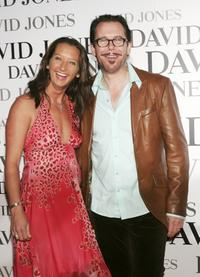 Layne Beachley and Kirk Pengilly at the David Jones Tahitian Summer Collection Launch.